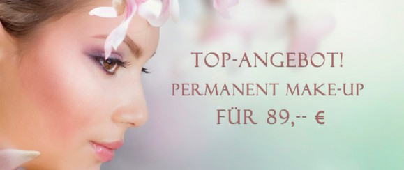 Top-Angebot: Permanent Make-Up für 89,– €