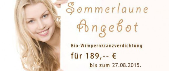 Sommerspecial für Permanent Make-Up in Frankfurt