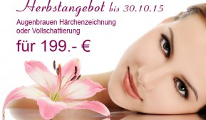 Herbstangebot | Permanent Make up | Beauty Studio Frankfurt am Main
