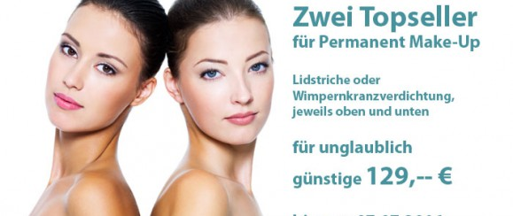 Zwei Topseller für Permanent Make-Up in Frankfurt