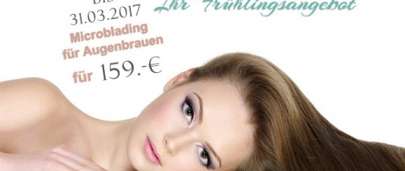 Winter ade –  glänzendes Angebot für Permanent Make Up